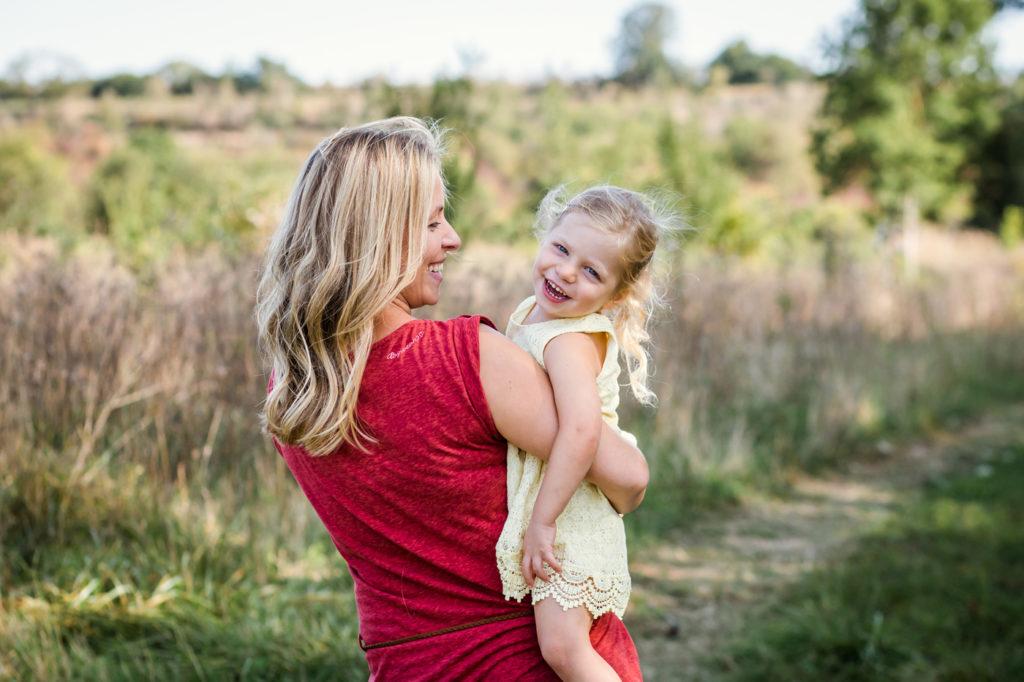 Fotos von Familien mit Kindern