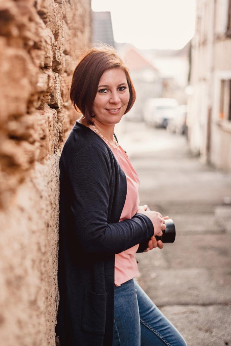 Babyfotos beim Fotoshooting mit Mama aus Mainz und Frankfurt